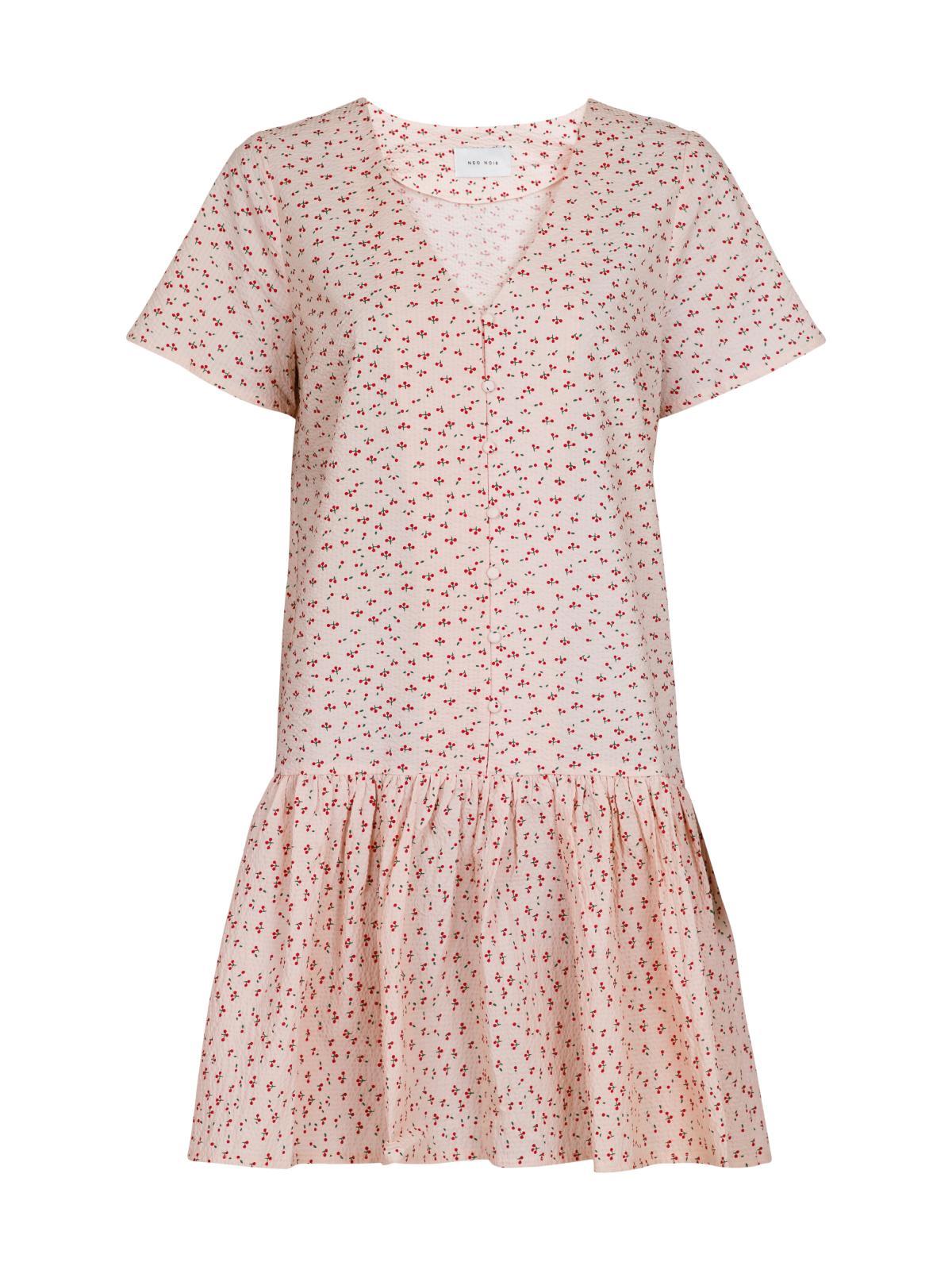 Neo Noir Ilsa Mini Cherry kjole, light pink, 38