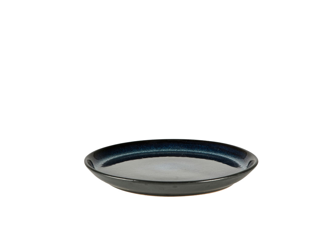 Bitz Gastro tallerken, Ø17 cm, sort/mørkeblå