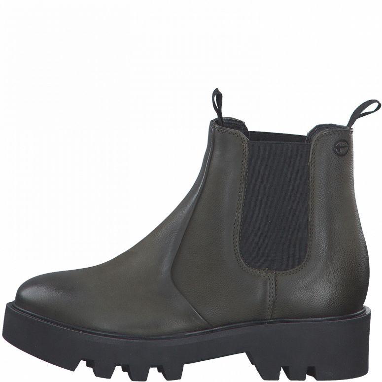 Tamaris 25465 støvle, olive, 39