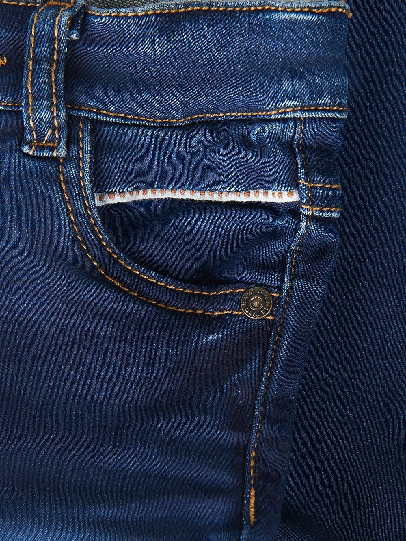 Name It Silas bukser, dark blue denim, 104