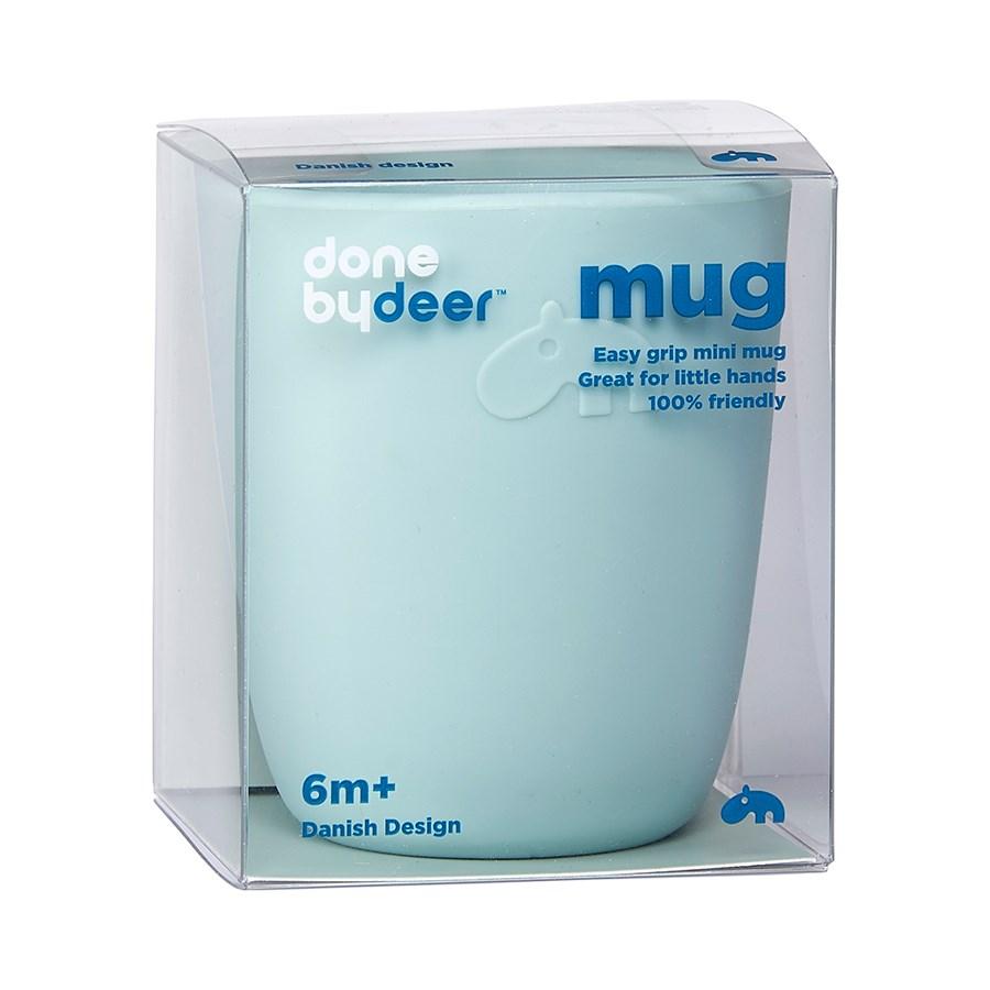 Done by Deer silikone mini krus, blå
