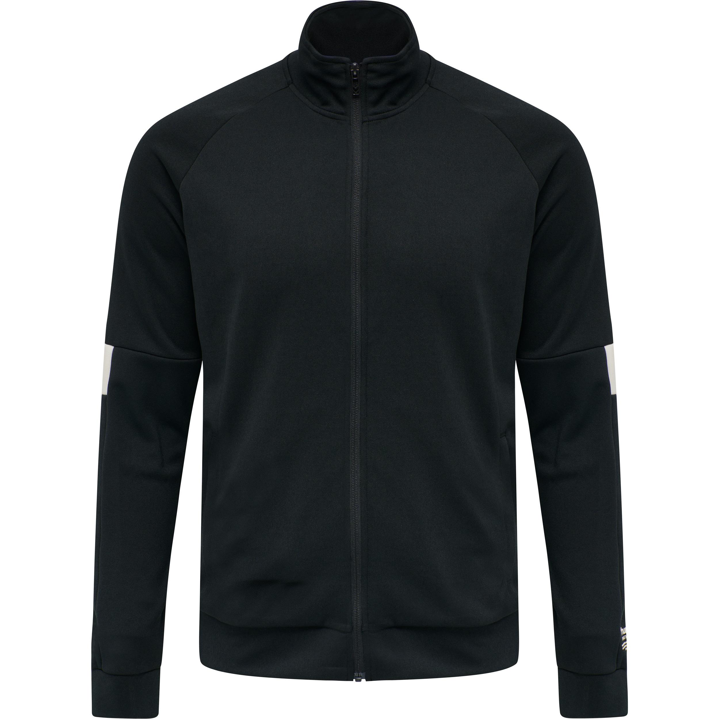 Hummel Lalec zip jacket, black, large