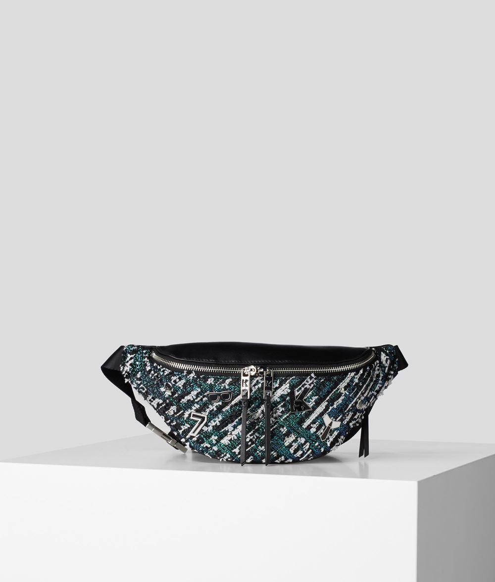 Karl Lagerfeld Studio Tweed bæltetaske