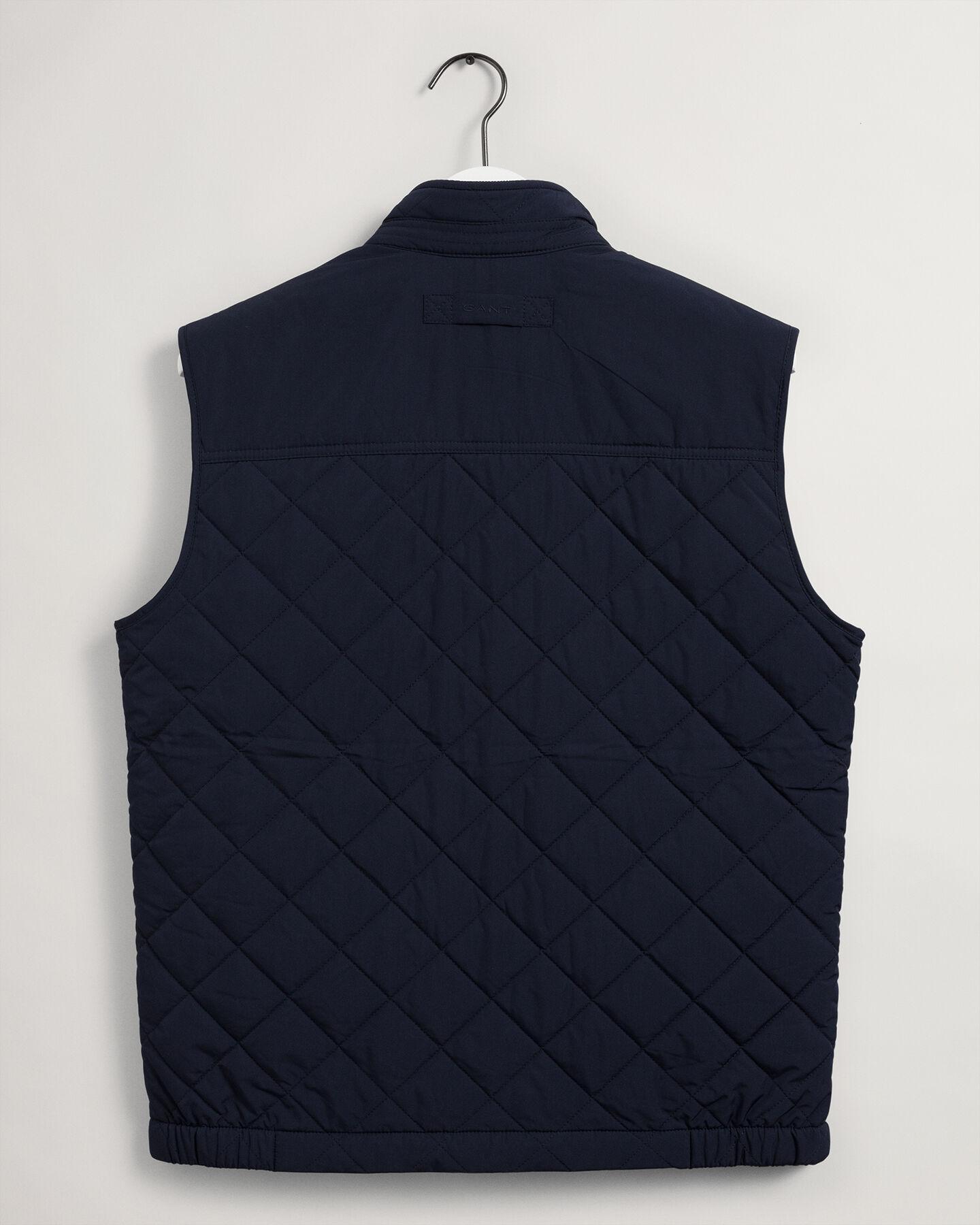 Gant Quiltet Windcheater Vest, Evening Blue, L