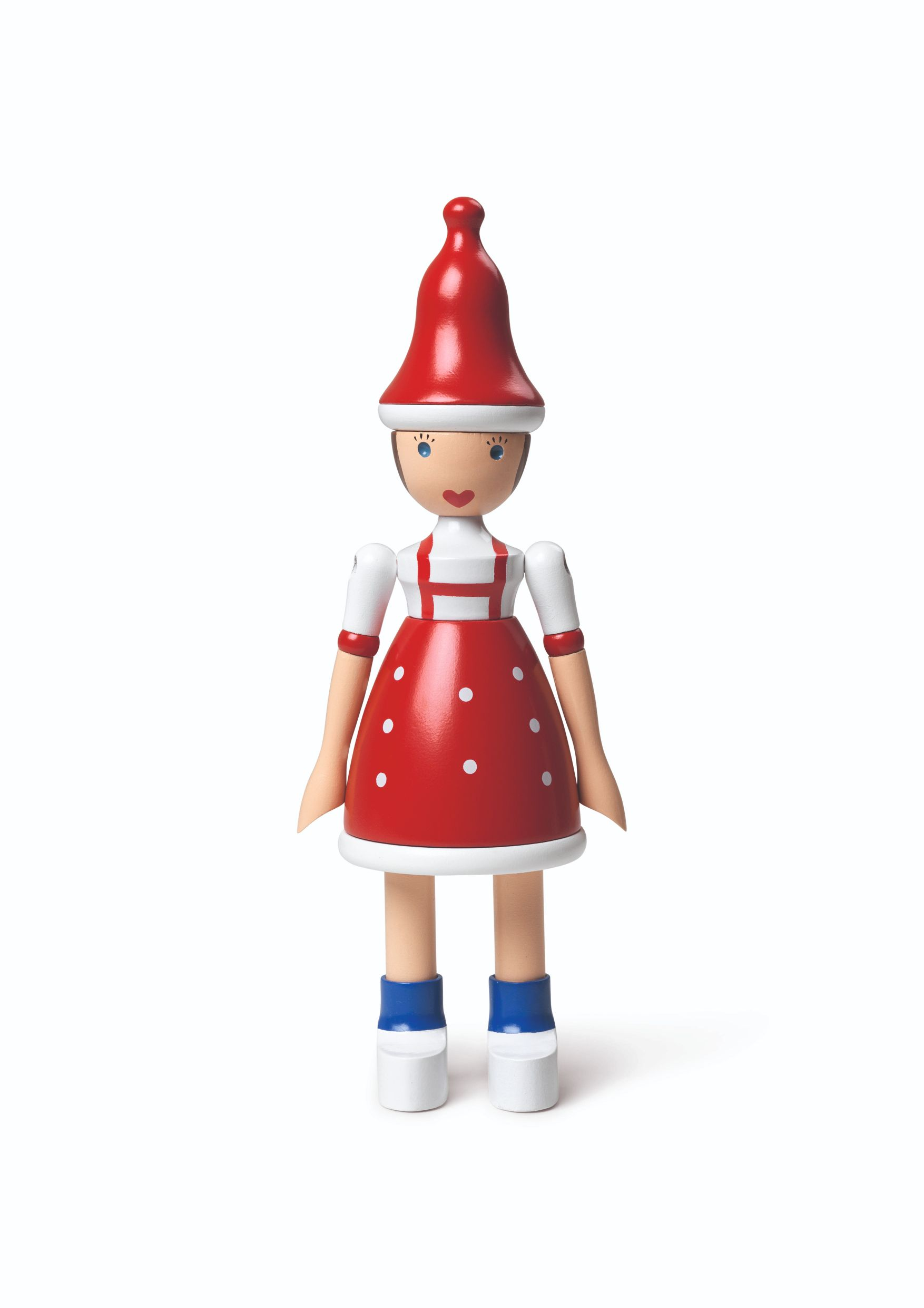 Kay Bojesen jule Lise figur, rød