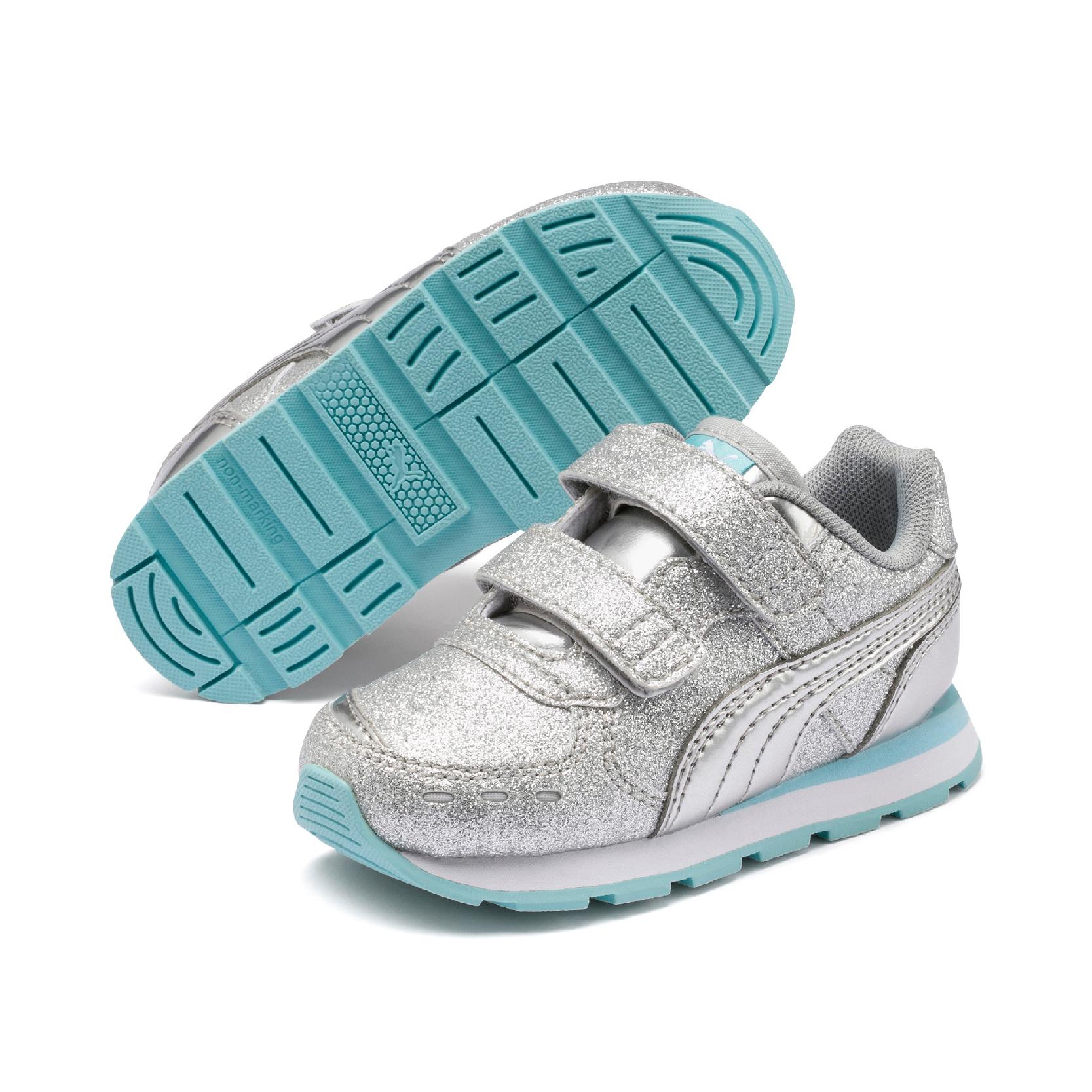 Puma Vista Glitz V sneakers, silver, 32