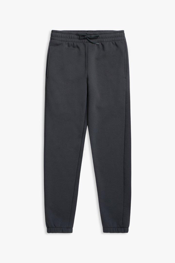 Woodbird Growel Mitu joggingbukser, dark grey, medium