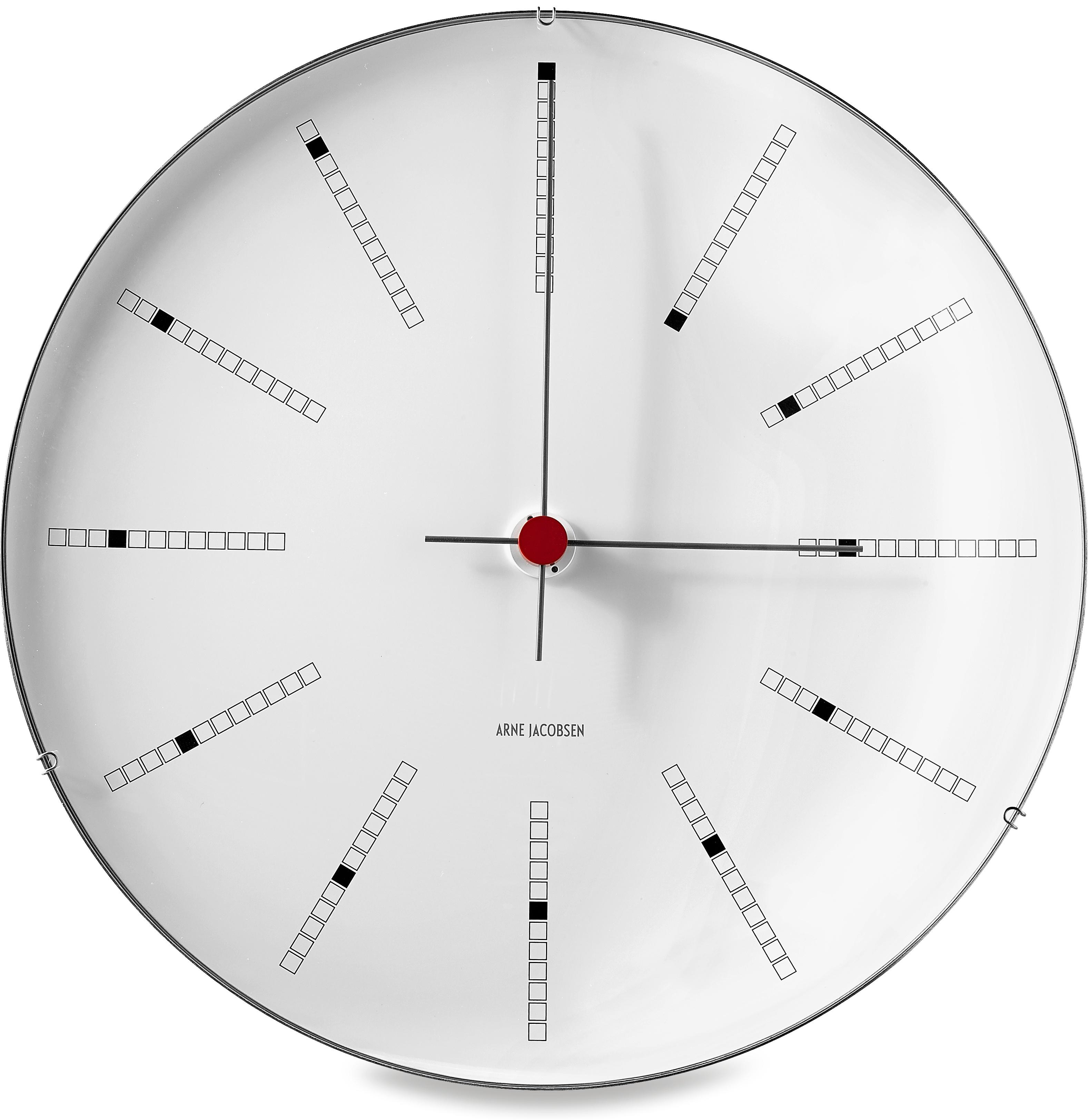 Arne Jacobsen Bankers vægur, Ø21 cm
