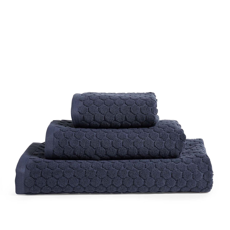 Nordstrand Classic Dot håndklæde, 40x60 cm, blå