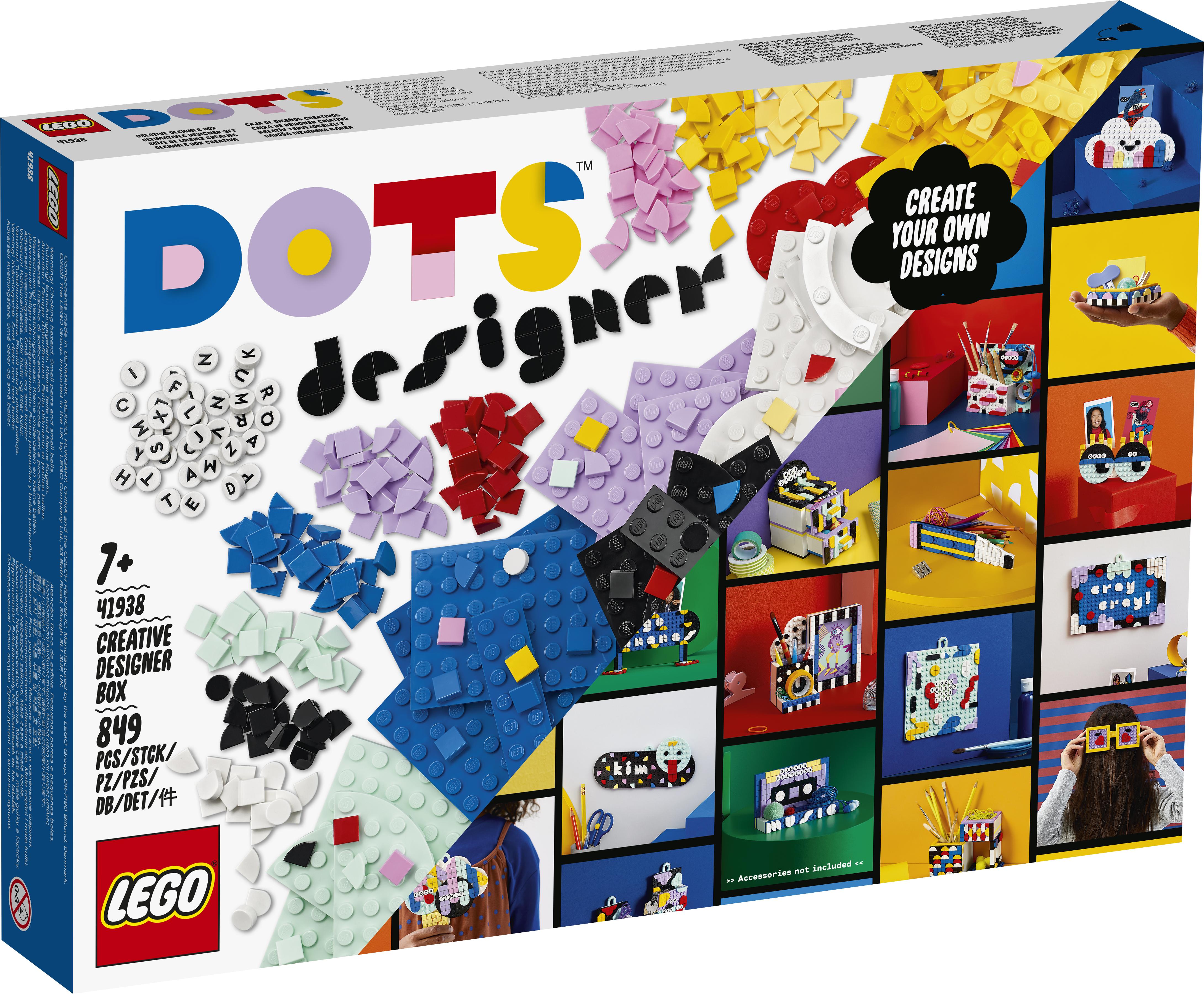 LEGO DOTS Kreativt Designersæt - 41938