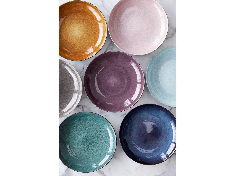 Bitz skål, Ø10 cm, sort/mørkeblå