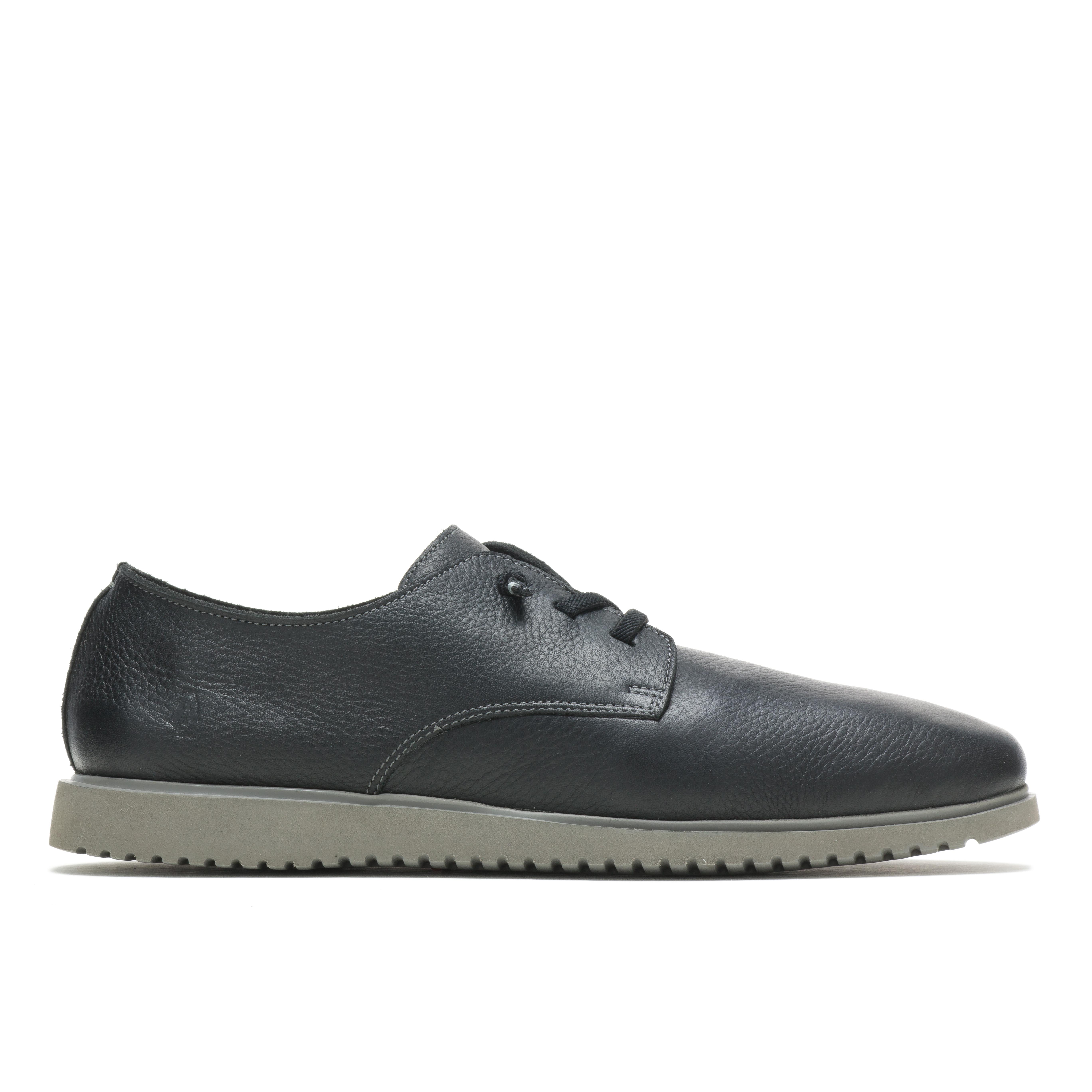 Hush everyday lace up sko, black leather, 43