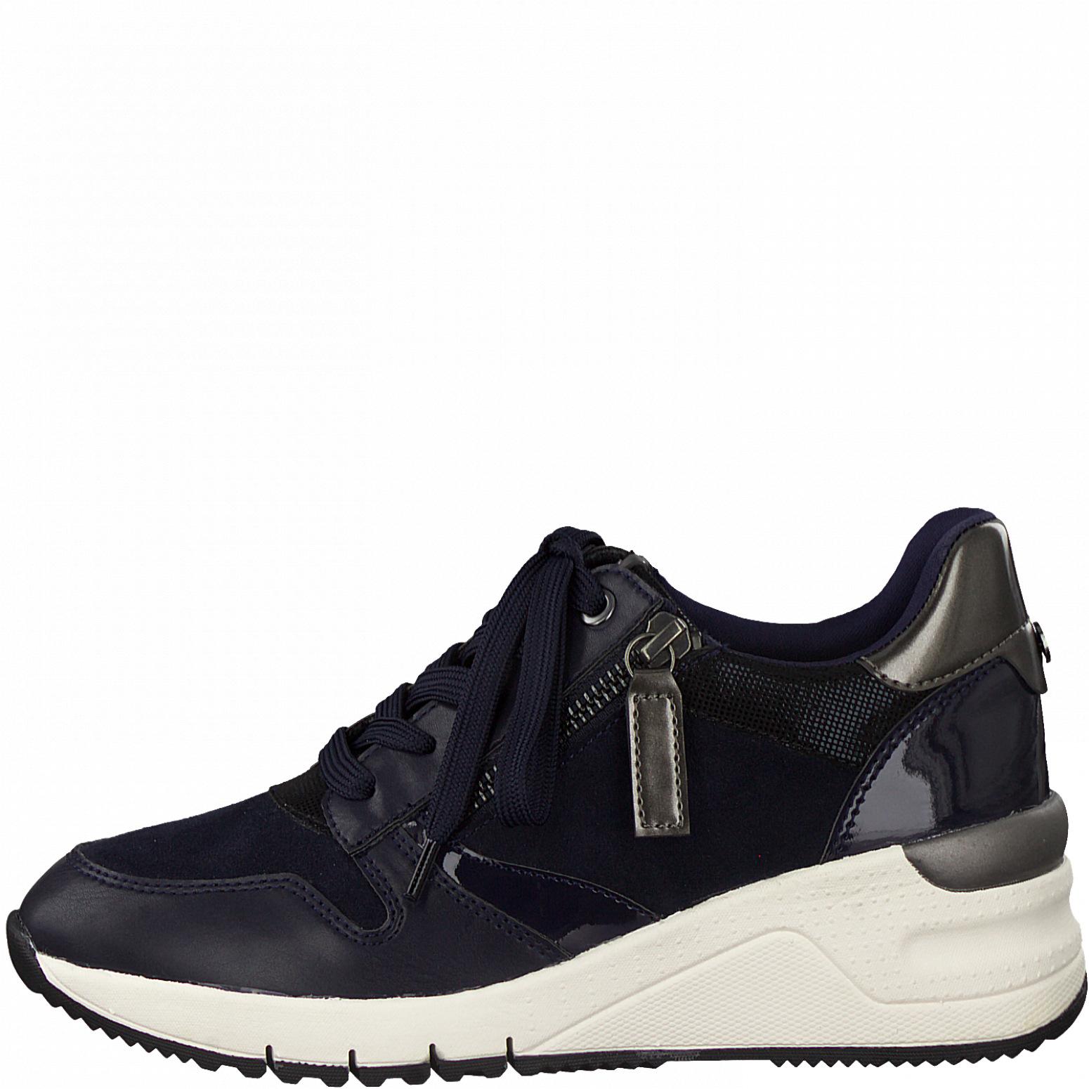 Tamaris 23702 sneakers, blå, 37