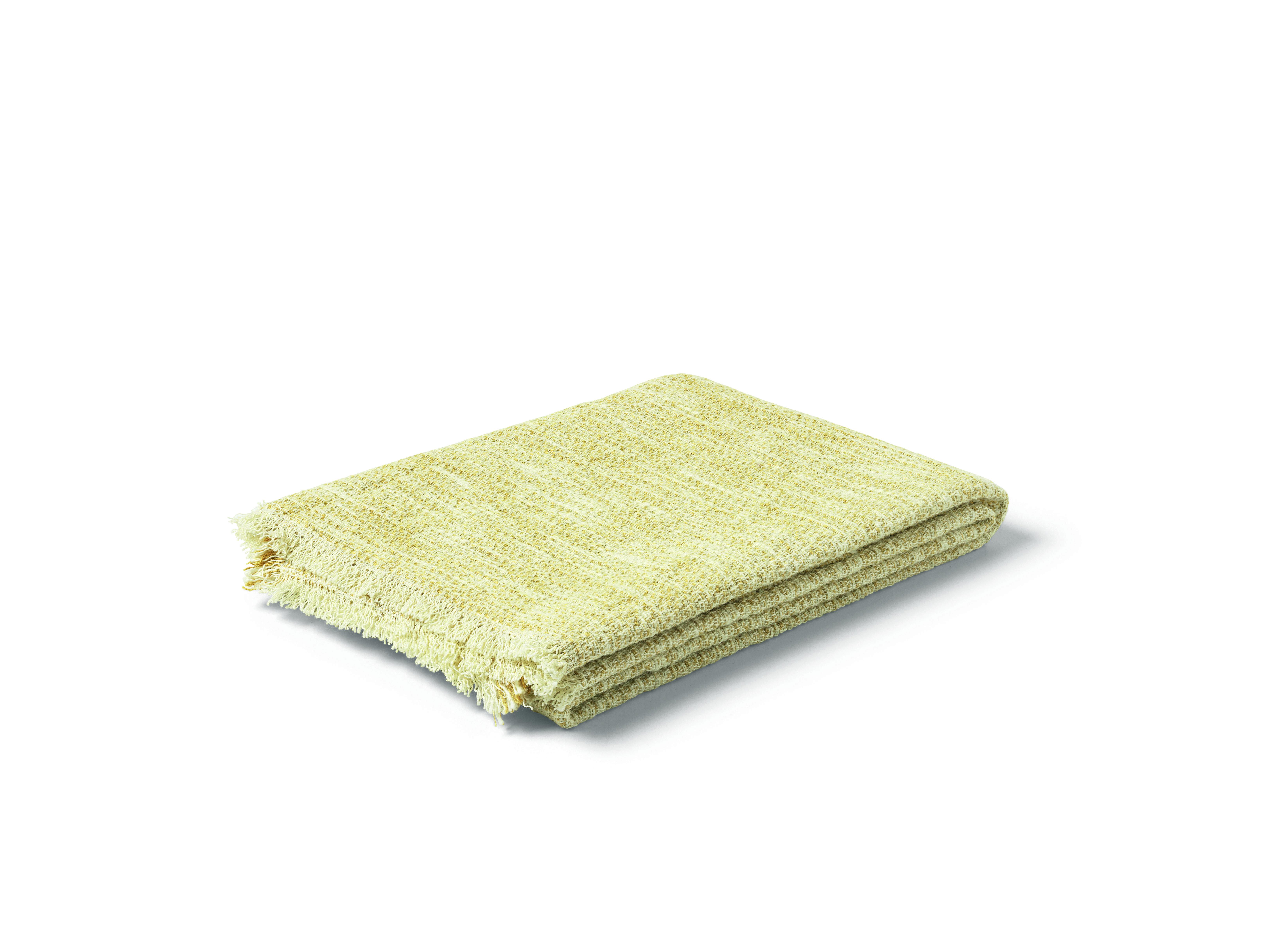 Juna Reflection håndklæde, 50x100 cm, sennep