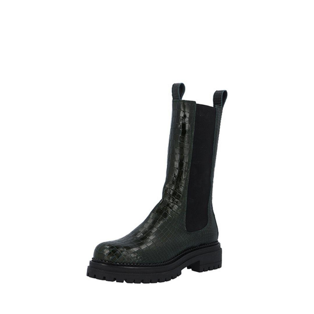 Cashott 24211 støvle, oliven, 39