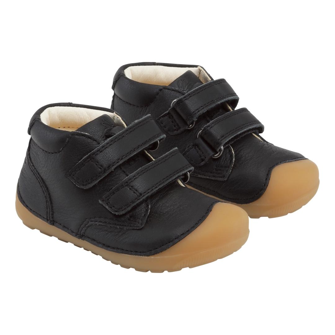 Bundgaard Petit Velcro sko, black, 20