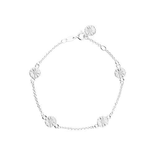 Marguerit Marguerit armbånd, sølv, 17-19cm