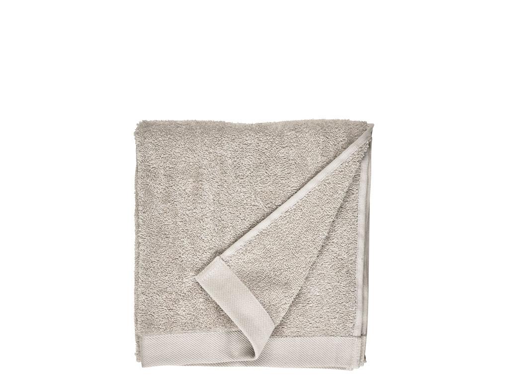 Södahl Comfort Organic håndklæde, 50x100 cm, light grey