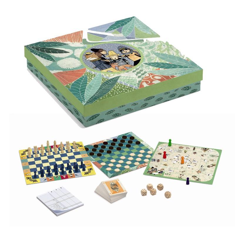 Djeco Spillemagasin m. 20 klassiske spil