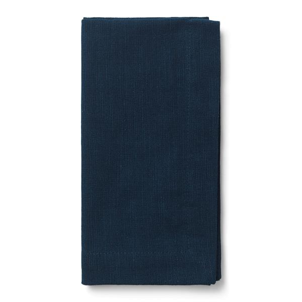 Juna Basic stofserviet, 45x45 cm, mørkeblå