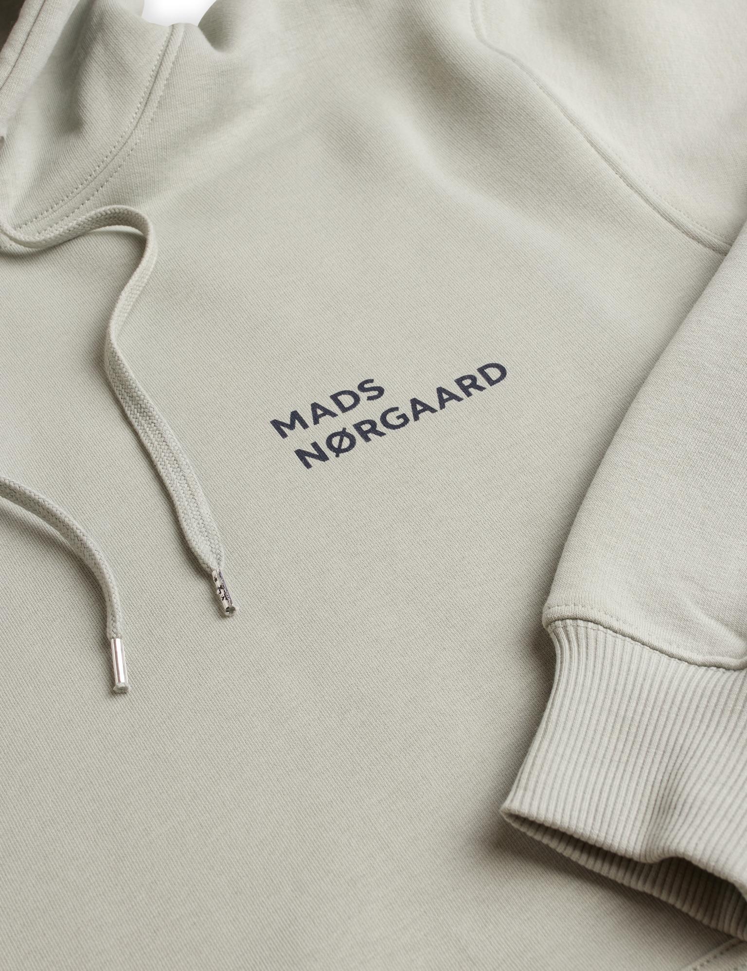 Mads Nørgaard New Standard Logo hættetrøje, wrought iron, xx-large