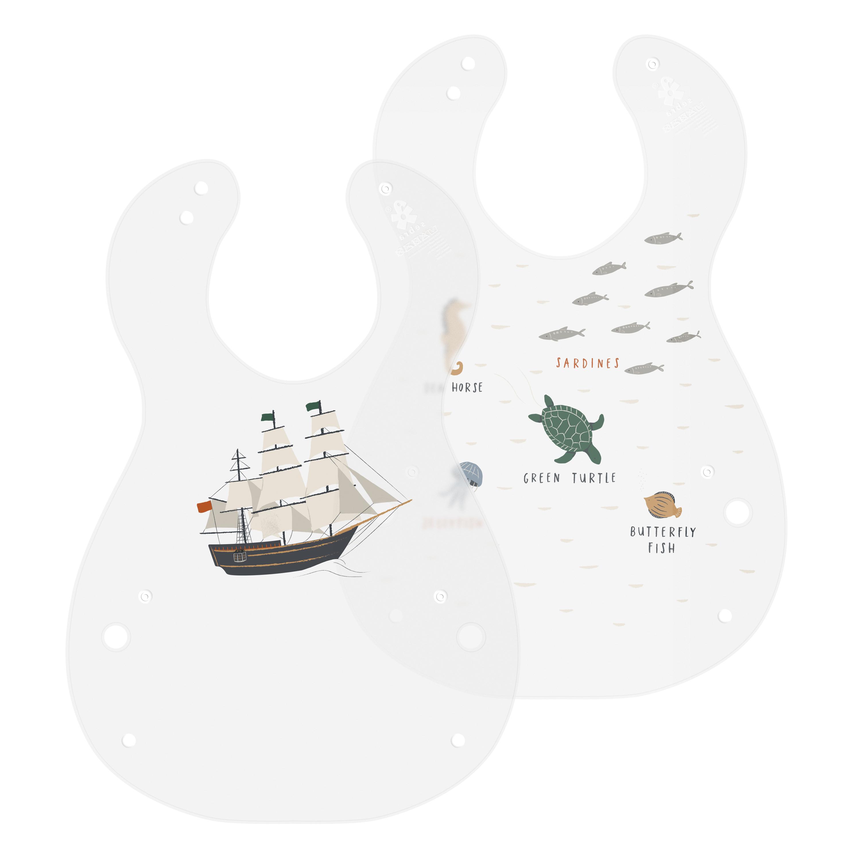 Sebra hagesmæk, 2 stk, seven seas