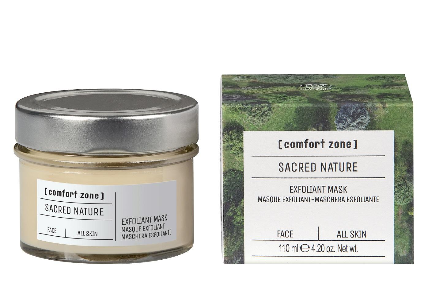 Comfort Zone Sacred Nature Exfoliant Mask, 110 ml