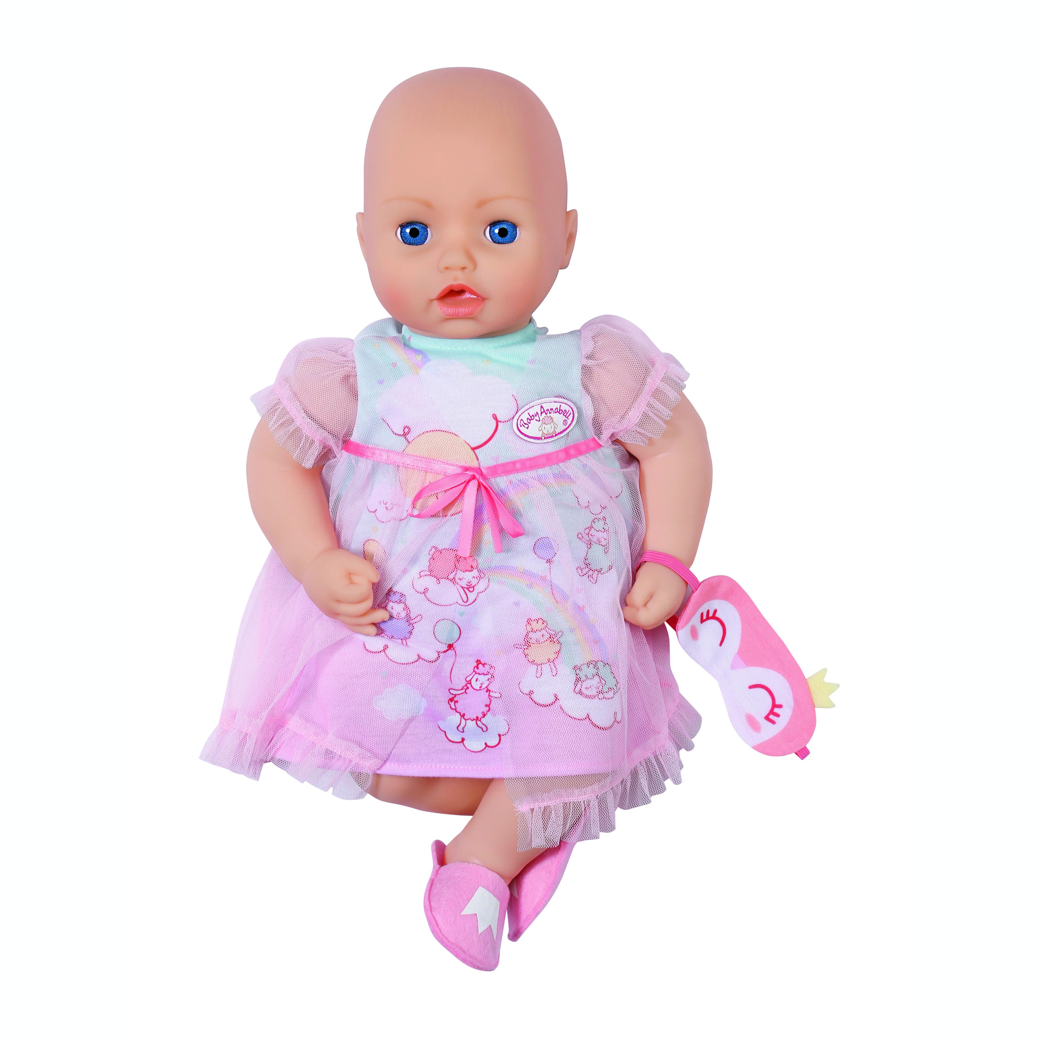 Baby Annabell Drømme Natkjole, 43 cm