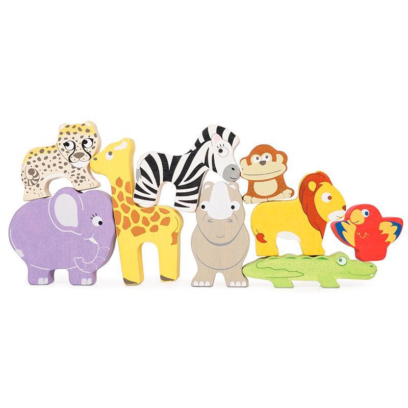 Le Toy Van Stabledyr fra Afrika trælegetøj