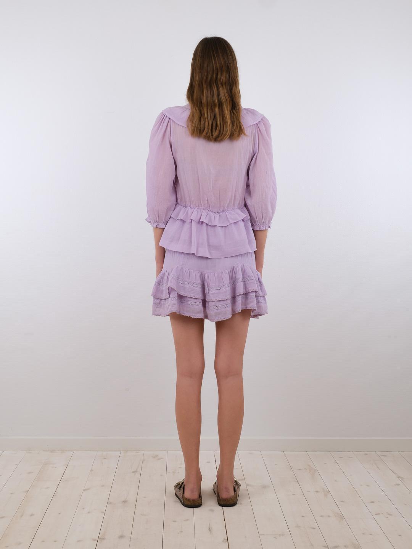 Neo Noir Besoa bluse, lavender, 40