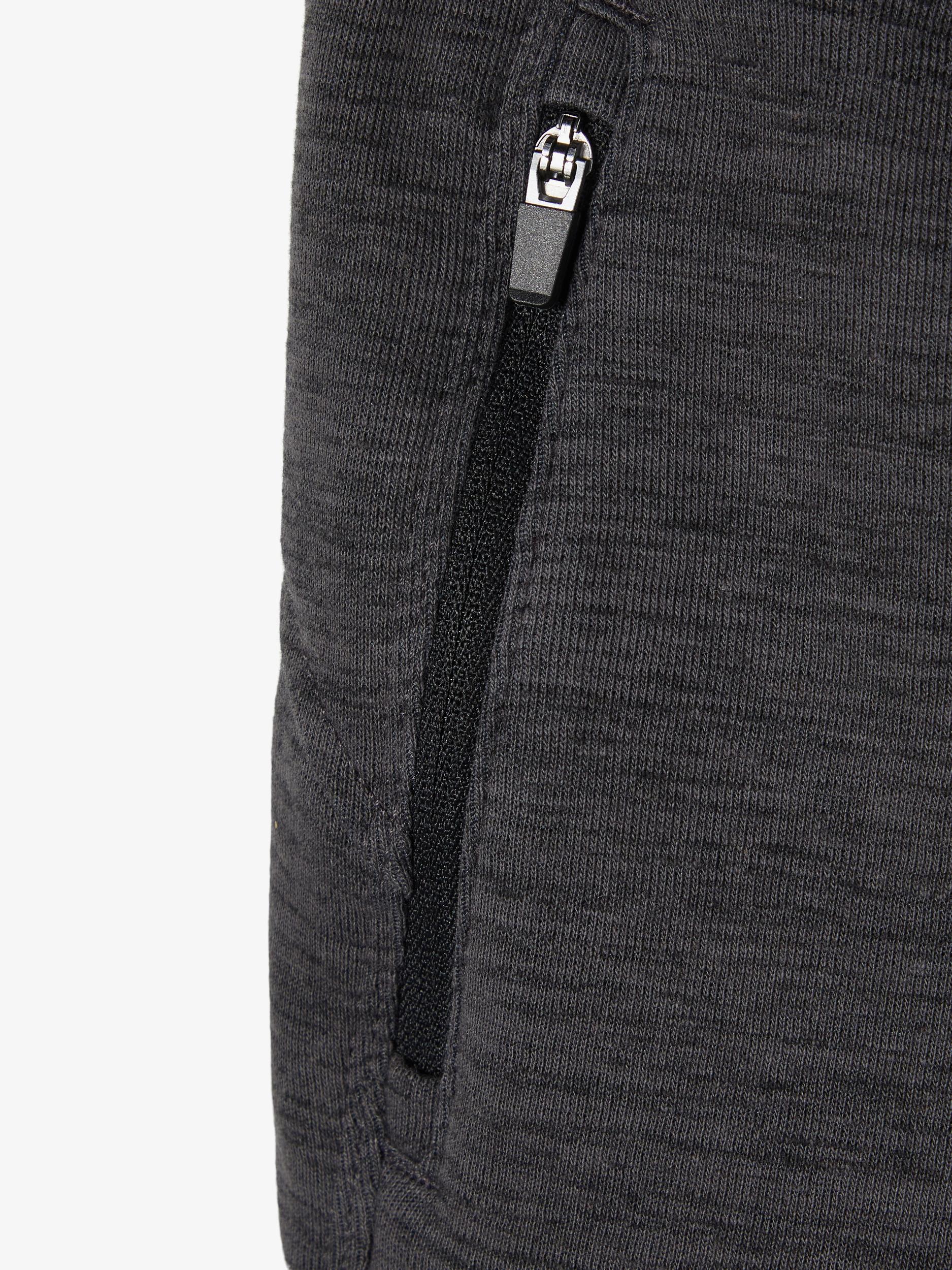 Name It Scottt sweat shorts, asphalt, 92