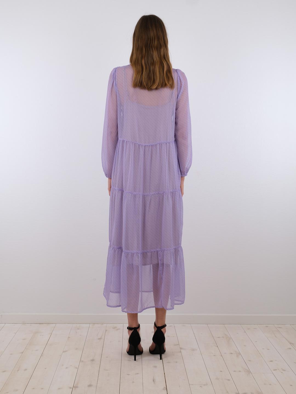 Neo Noir Nobis kjole, light blue, 34