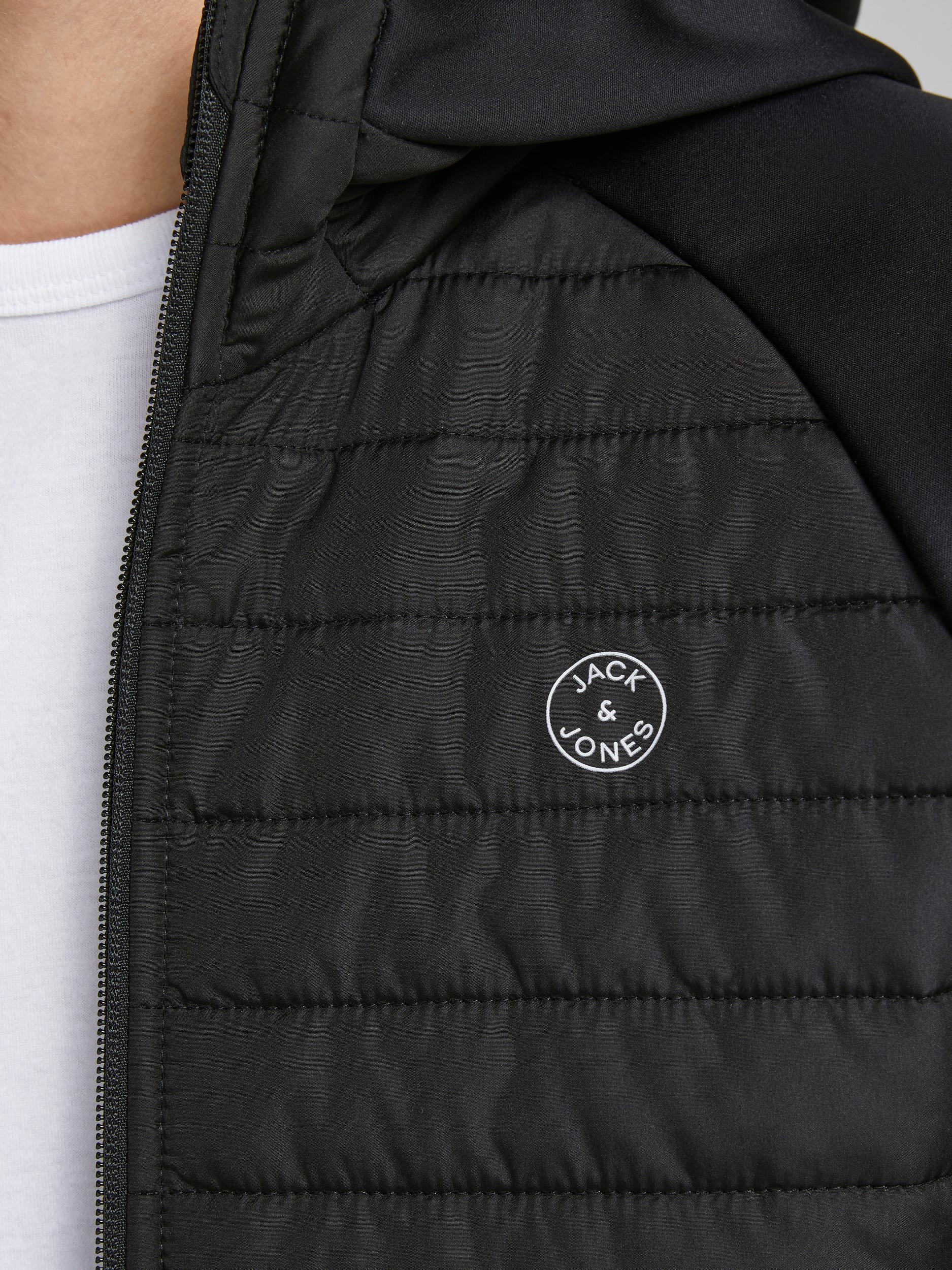Jack & Jones Multi Quilted jakke, black, x-large