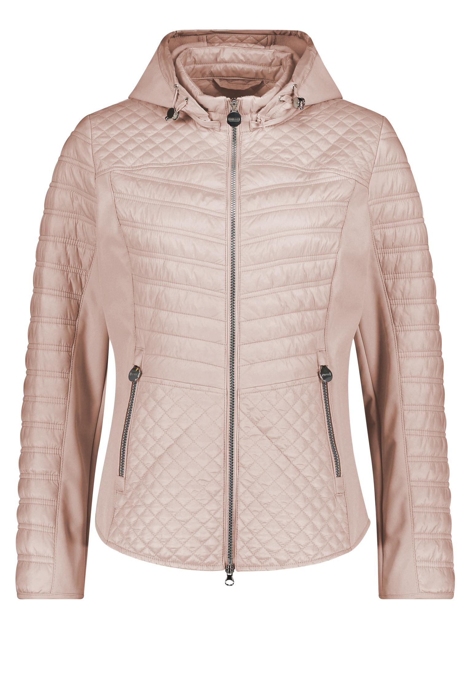 Betty Barclay Quiltet jakke, rose blush, 40