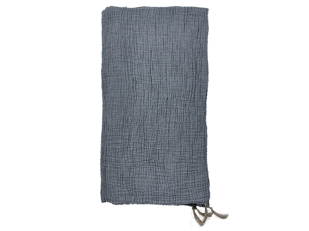 Södahl Poetry sengetæppe, 150x260 cm, china blue