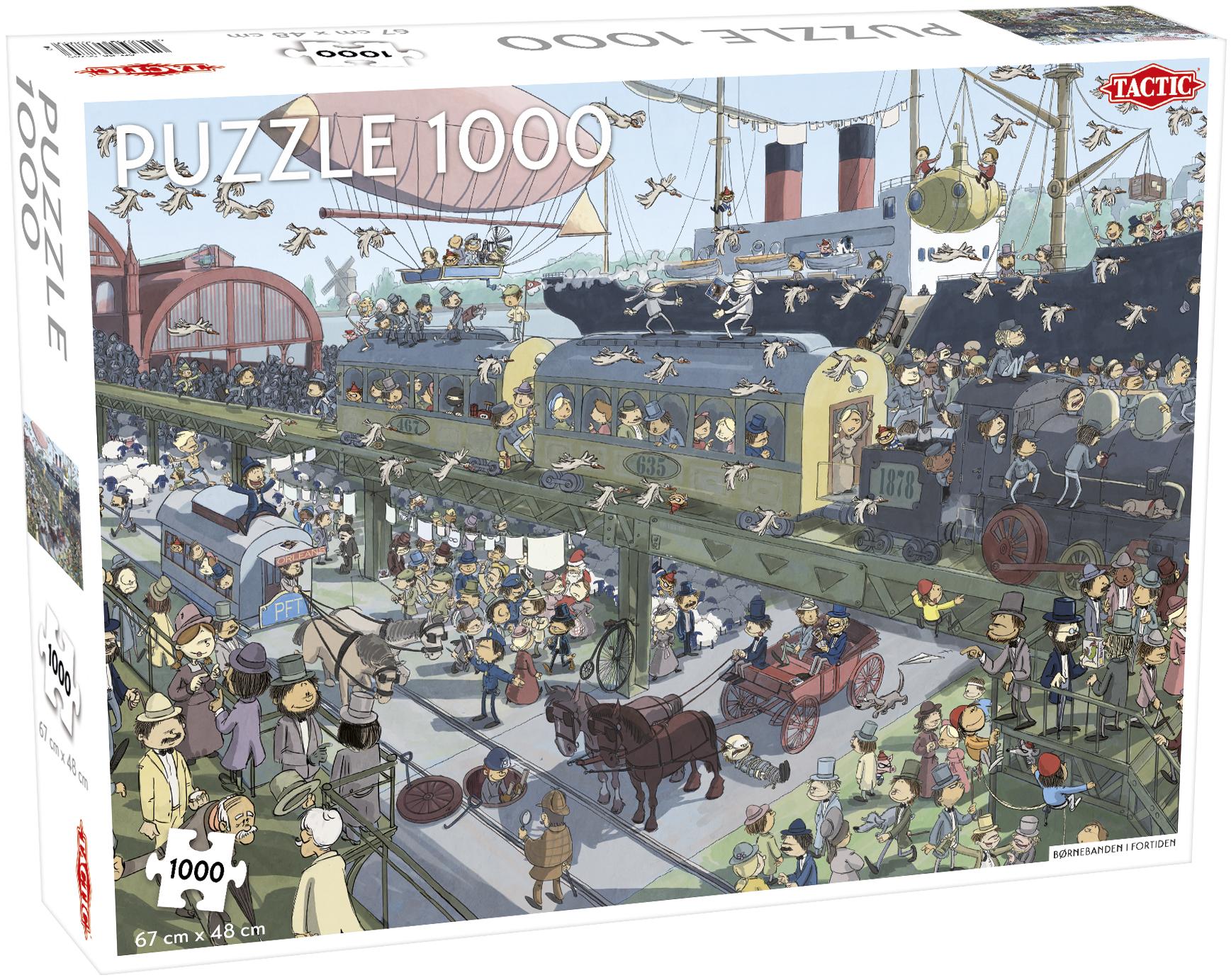 Tactic Puslespil, Børnebanden og Industrialiseringen, 1000 brikker