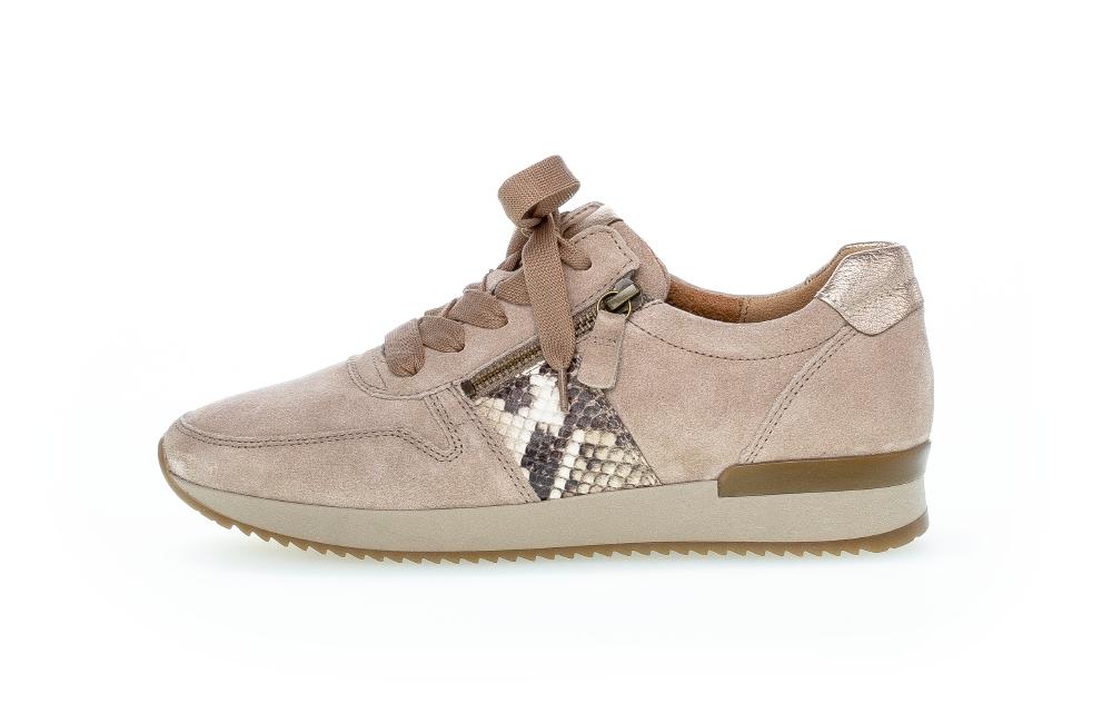 Gabor 73.420.12 sneakers, desert/silk, 38.5