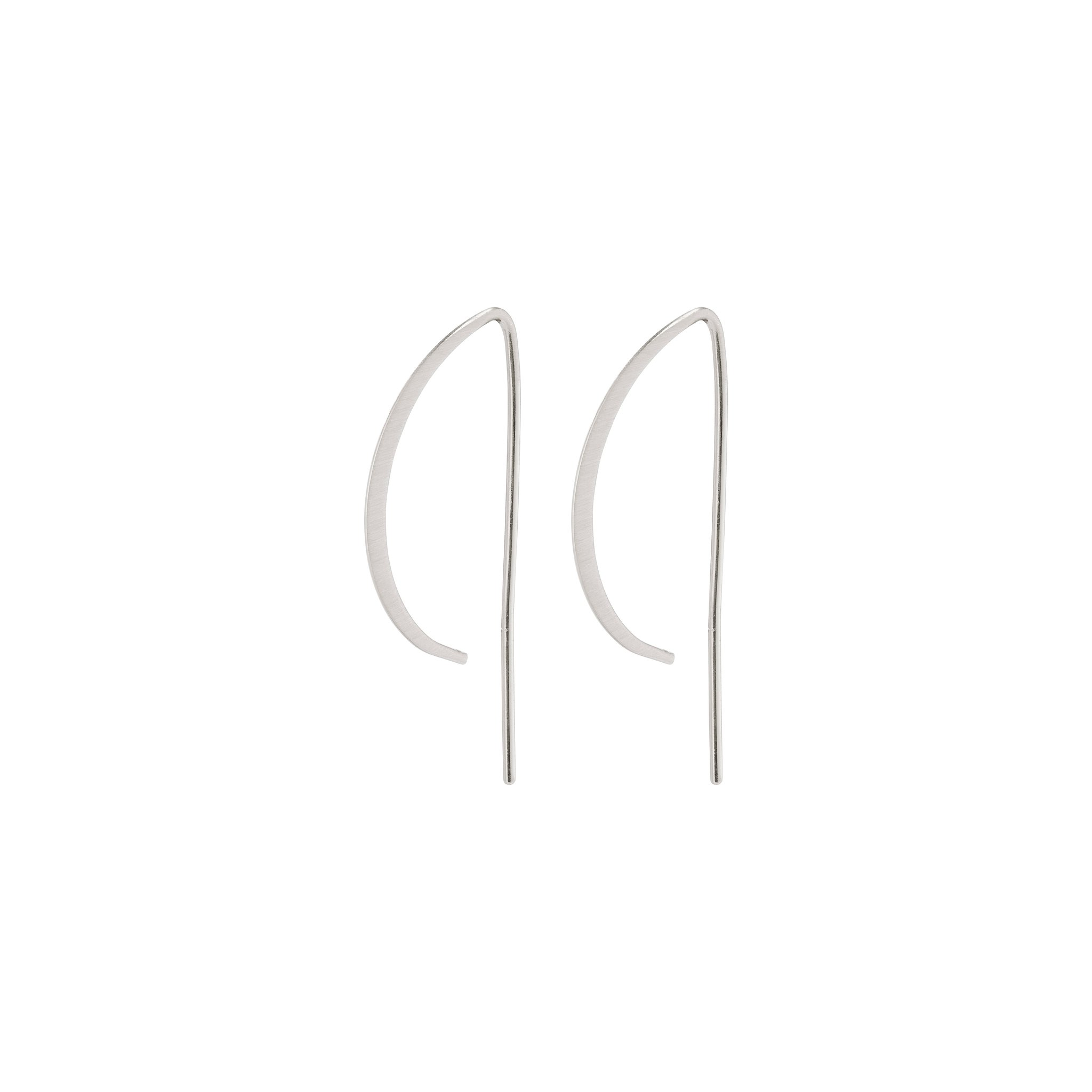 Pilgrim Peony øreringe, sølv