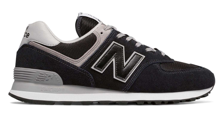 New Balance 574 sneakers, black, 41.5