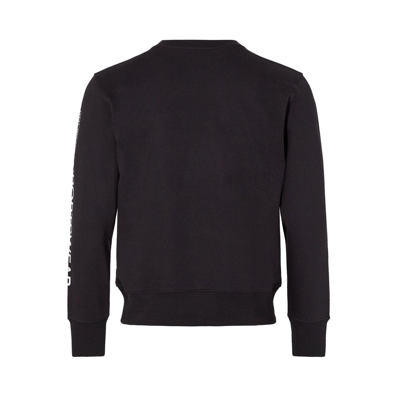 H2O Anholt sweatshirt, black, small