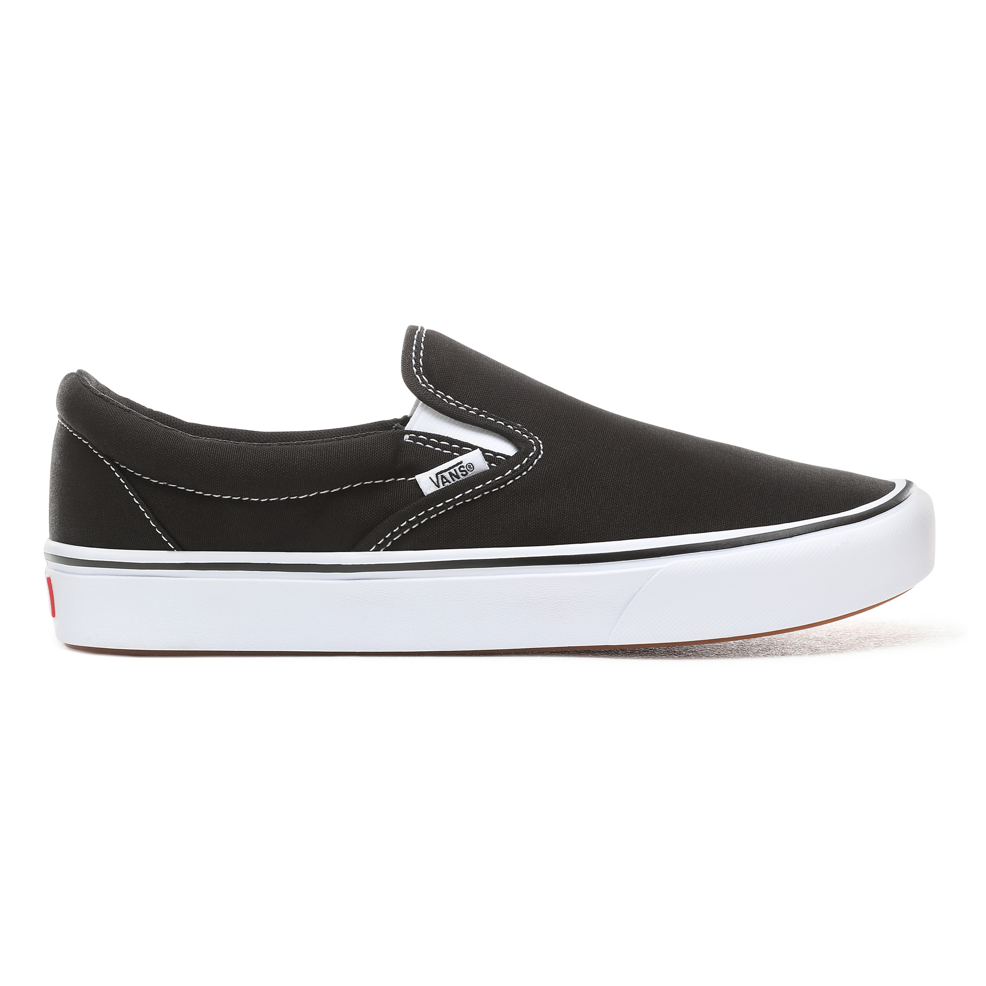 Vans Classic ComfyCush Slip-On sneakers, unisex, black, 36,5