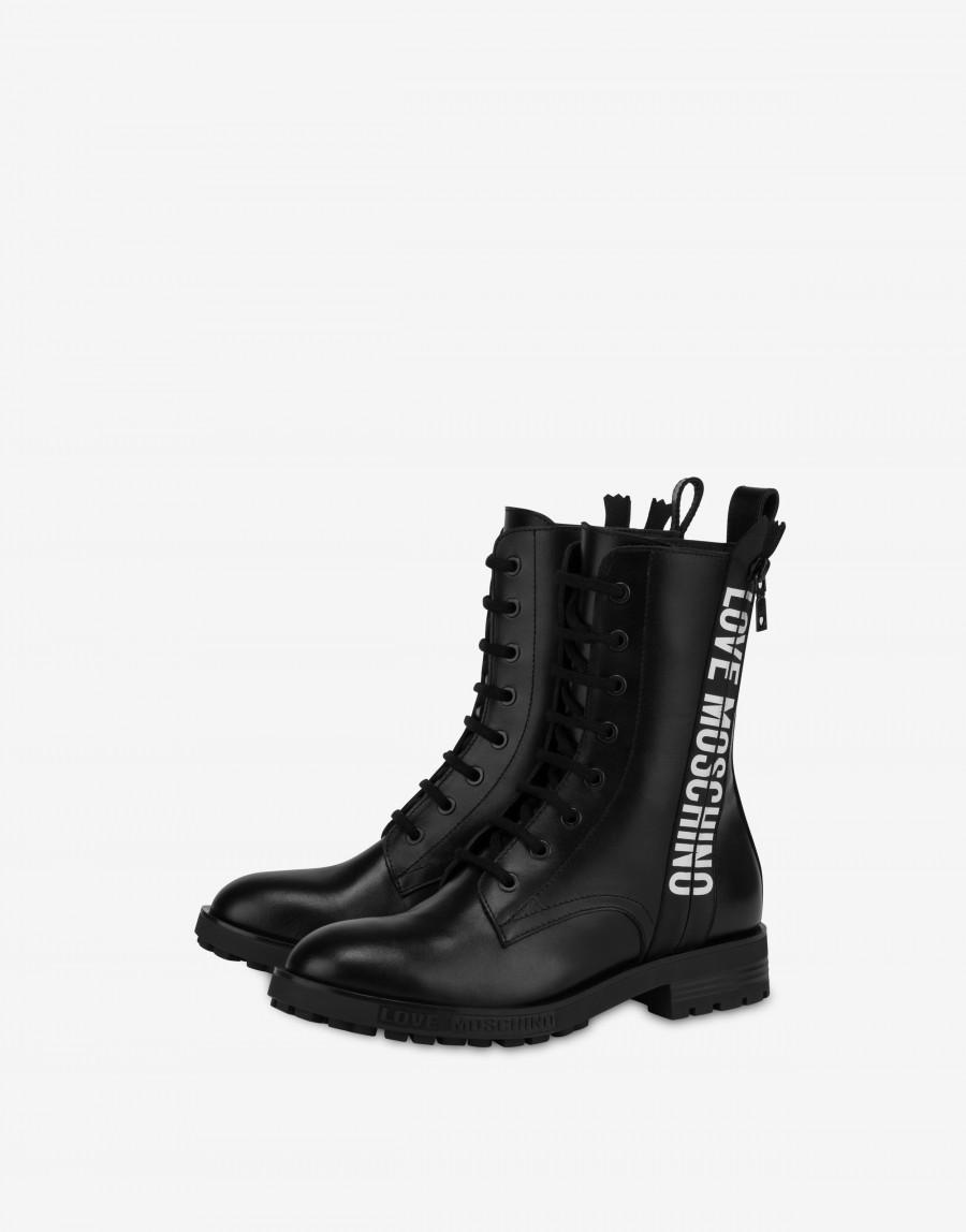 Love Moschino lynlås støvle