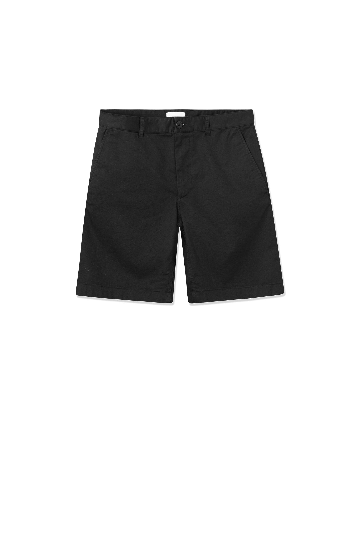 Wood Wood Jonathan Light Twill shorts, black, 34
