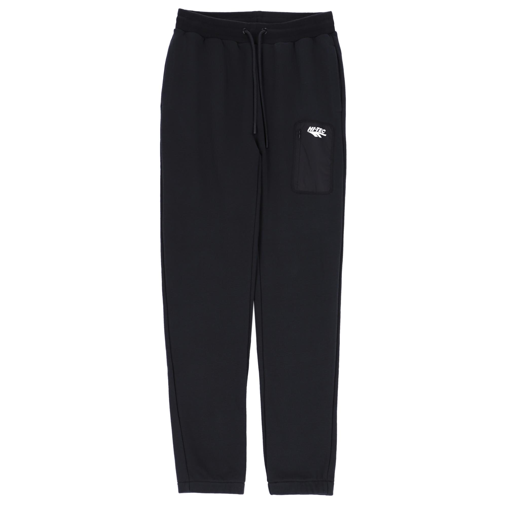 HI-TEC Zoya sweatpants, jet black, small