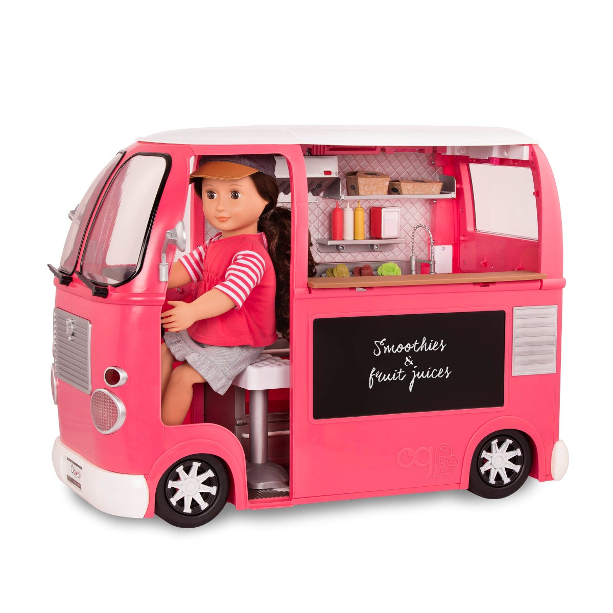 Our Generation Food Truck, pink
