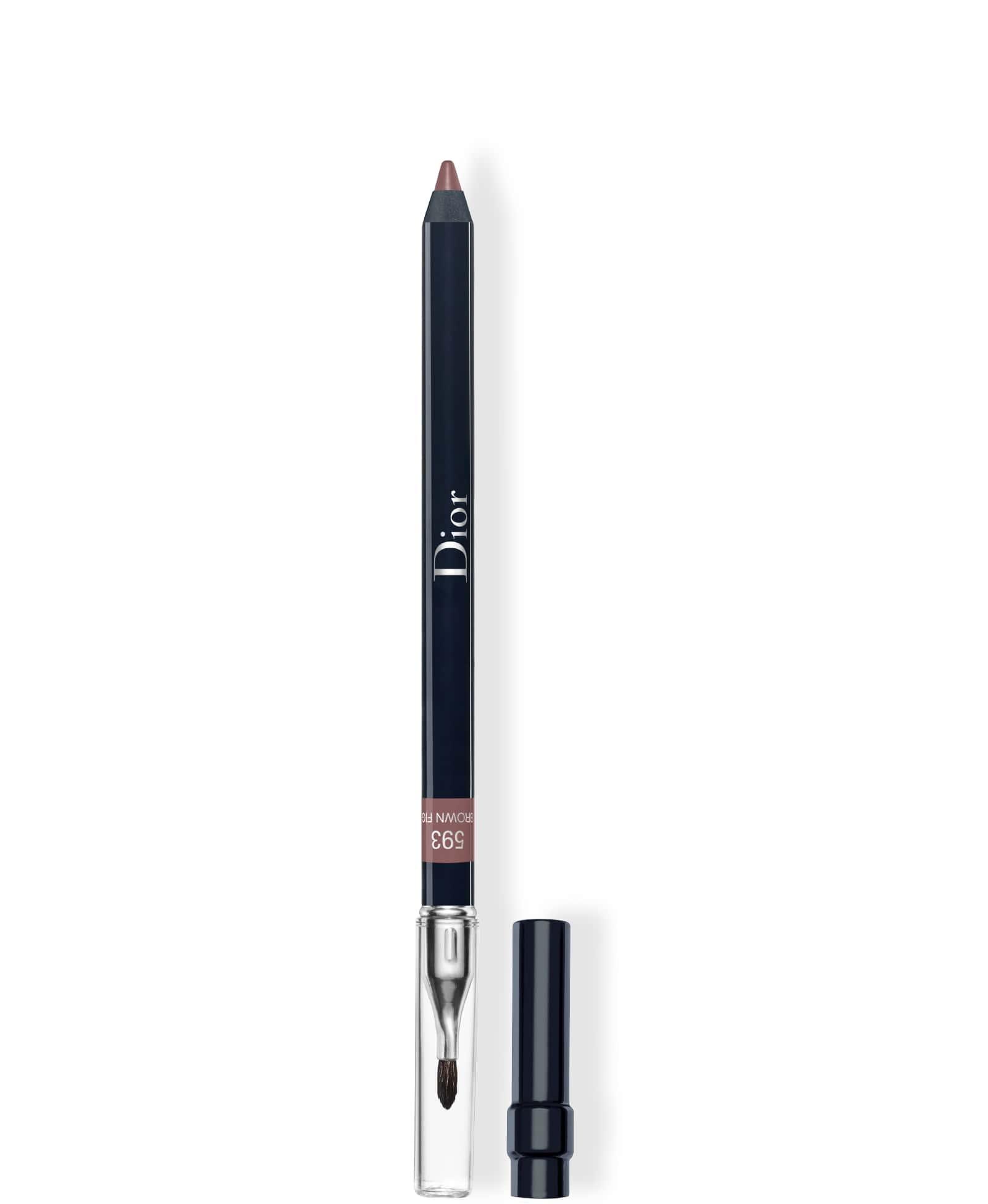 DIOR Contour Lipliner Pencil, 593 brown fig