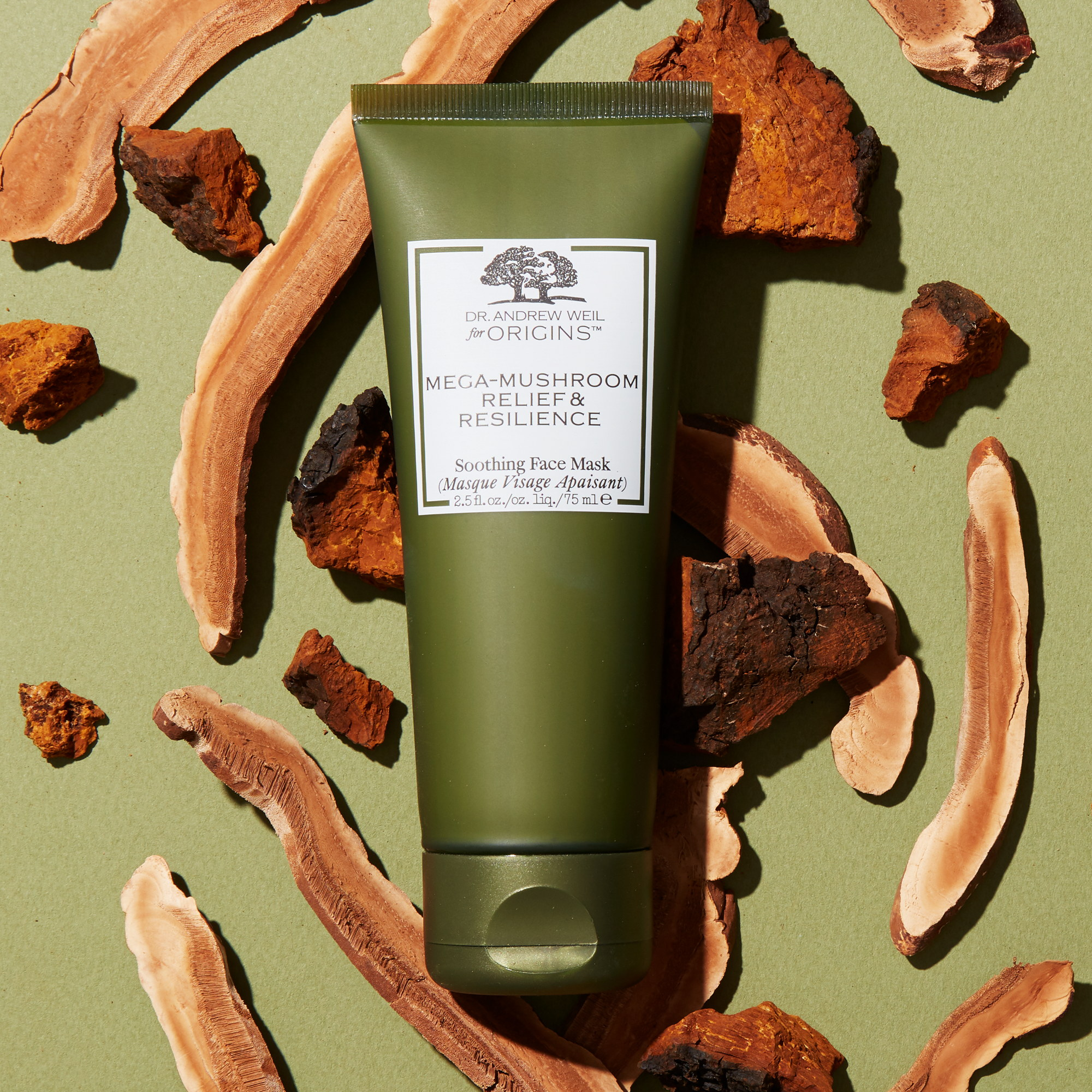 Origins Dr. Weil Mega-Mushroom Relief & Resilience Soothing Face Mask, 75 ml