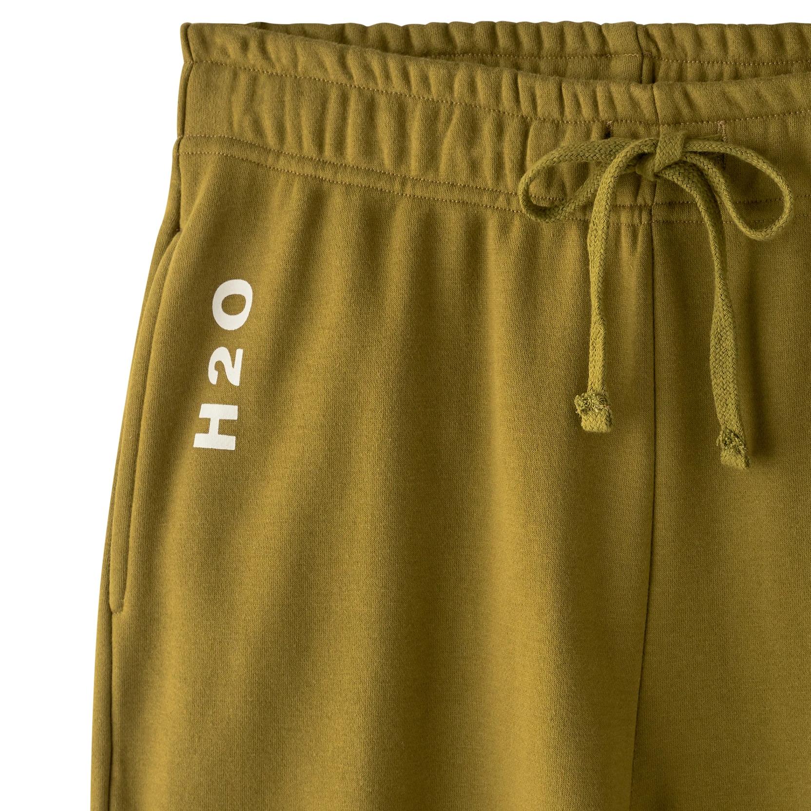 H2O Lolland sweatpants, army avocado, x-small