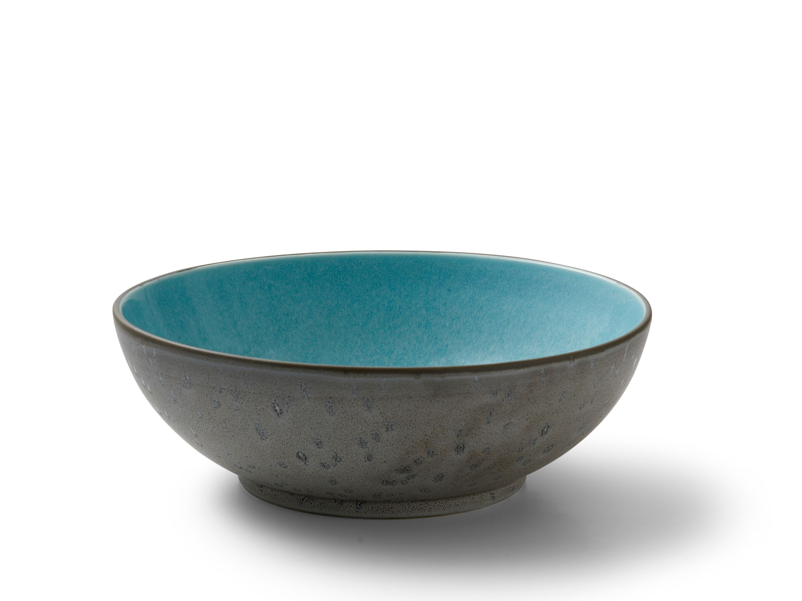 Bitz salatskål, Ø30 cm, sort/bronze