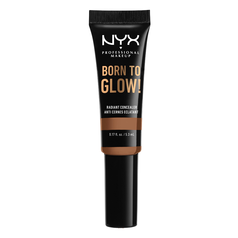 NYX Professional Makeup Born To Glow Concealer, mahogany